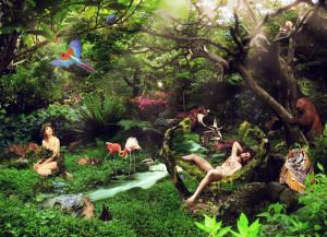 Paradijselijke tuin