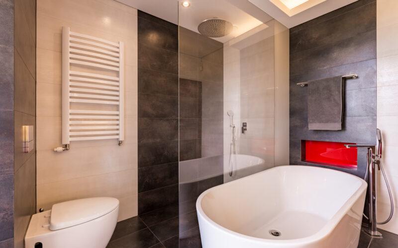 infrarood kachel badkamer